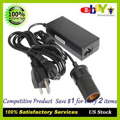 110V AC to DC 12V 5A Car Power Adapter Converter Cigarette Lighter Socket 60W 60w Dc Car Adapter