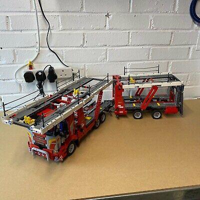 Lego Technic Car Transporter 42098 fully built