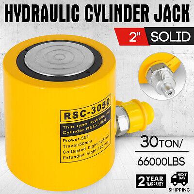30 Tons 2 Stroke Single Acting Hydraulic Cylinder Jack Ram