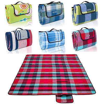 Picknickdecke XXL Campingdecke Reisedecke Stranddecke Picknick Matte Isoliert