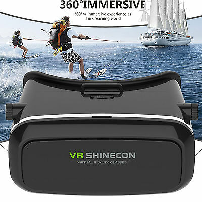 3D Vr Virtual Reality Smart Glass Gears Headset For Iphone 7 6S Plus Lg V20 K8
