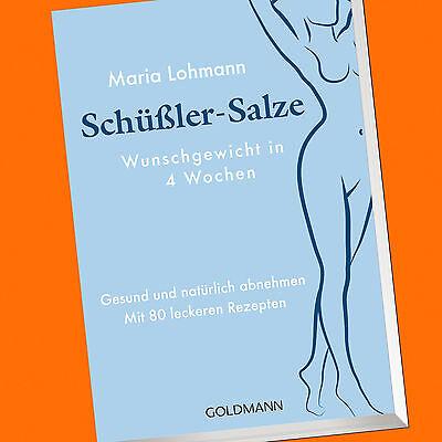 Maria Lohmann | Schüßler-Salze | Wunschgewischt in 4 Wochen | Abnehmen (Buch)