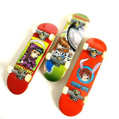 Tech Deck HOOK-UPS / Hook Ups Mini Skateboards Manga Anime Set Of 3 - RARE  (Anime Skateboard Deck)