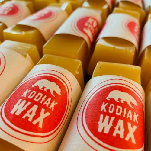 Kodiak Wax 5oz. canvas wax water repellent with Beeswax, Spruce Sap, Lanolin