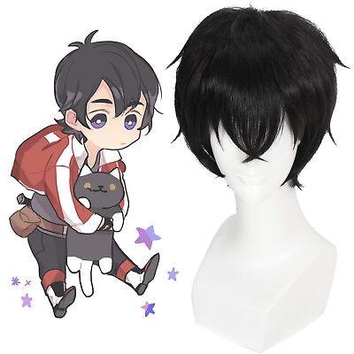 Voltron Keith Persona 5 Ren Amamiya Akira Cosplay Wig Mens Short Black - Mens Short Black Wig