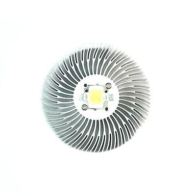 90x20mm Round Mountable Aluminum Heat Sink Cooling For 10w Led Heat Sink