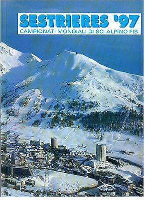 SESTRIERES '97 CAMPIONATI MONDIALI DI SCI ALPINO FIS 1997