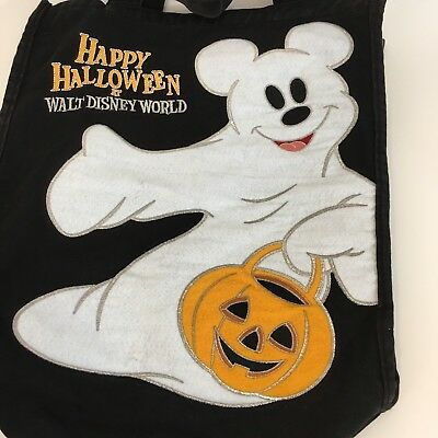Wdw Halloween Decorations (Mickeys Not So Scary Halloween Party Trick or Treat Candy Bag Disney WDW)