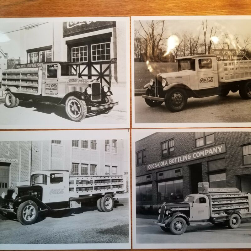 Vintage Coca Cola delivery truck photos, lot of 16 pictures for $95.00