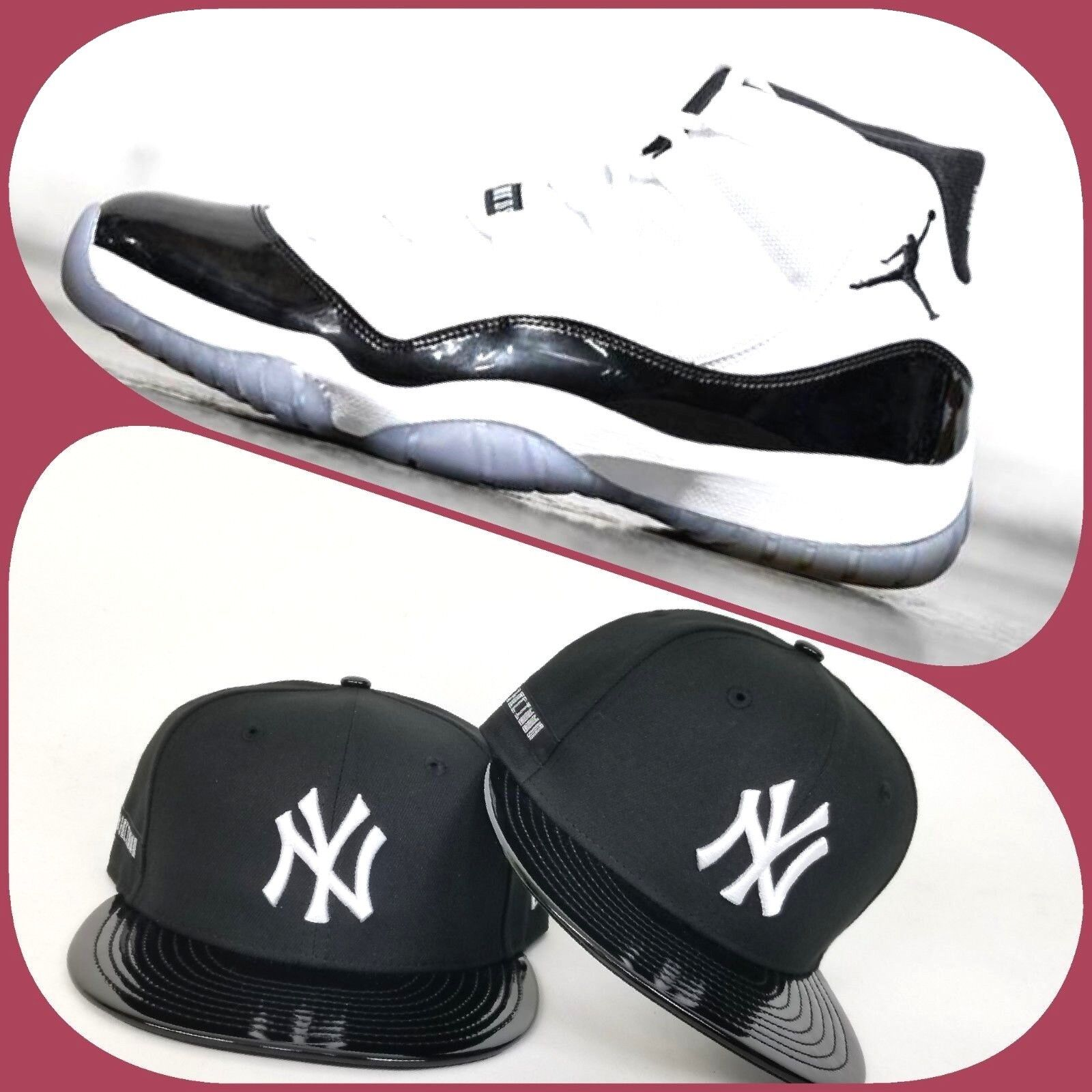 b41c19ac9bd Details about New Era New York Yankees 59Fifty Fitted hat for Jordan 11  Concord