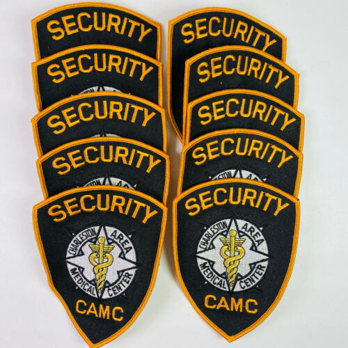 10 Charleston Area Medical Center Security CAMC West Virginia WV Patches Lot