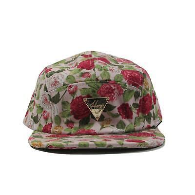 HATer Floral Roses 5 Panel Strapback Snapback Hat