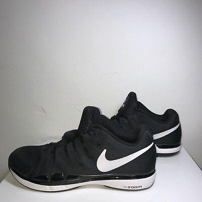 huge selection of d5687 98ffa ... italy nike zoom vapor 9.5 tour tennis shoes black 631458 011 us mens  11.5 federer c6009