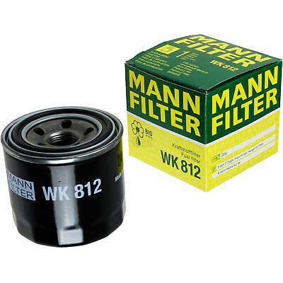 2 Pack 1200 Ersatz (Original MANN-FILTER Kraftstofffilter WK 812 Fuel Filter)