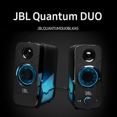 SAMSUNG JBL QUANTUM DUO Bluetooth PC Speaker LED Bluetooth LED Lights wired