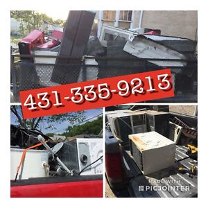 Free Scrap Metal Pick Up City Wide Call Today