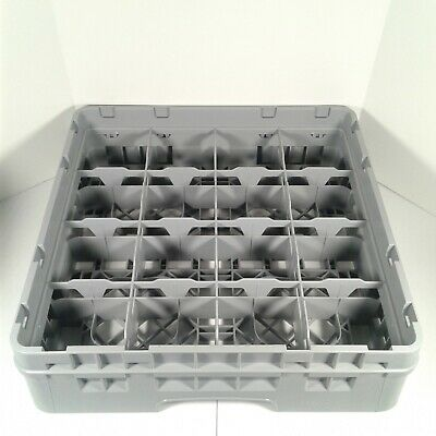 Cambro Camrack 16 Cup Glass Rack Tray Extender Commercial Dishwasher Machine