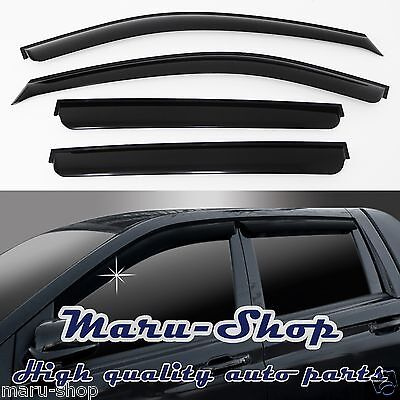 Smoke Window Visor Vent 4p For 2006 2010 Ssangyong Actyon Sports