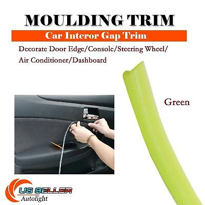 192'' Moulding Strip Panel Green Line Trim Decorative Car Styling Accessory