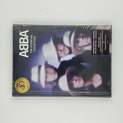 ABBA - THE ESSENTIAL COLLECTION (LIMITED EDITION) 2 CD + DVD NEW Free Shipping