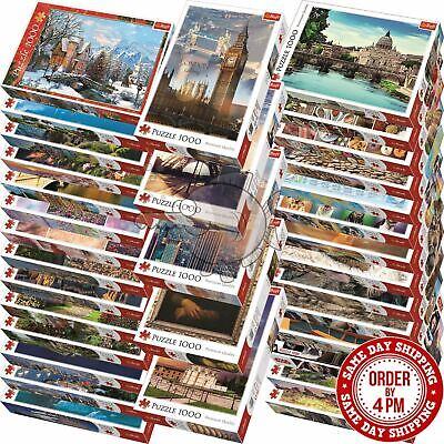 Trefl 1000 Piece Jigsaw Puzzle Animals Landscapes Cities