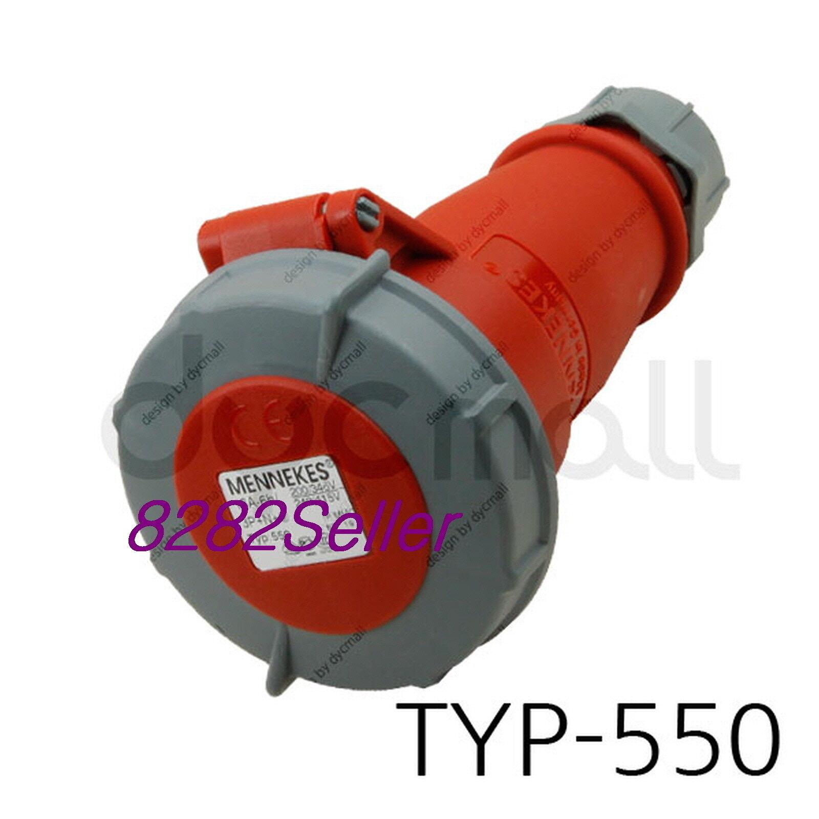 IP44 400V 32A 3P+N+E Screw terminals single part body MENNEKES TYP 4 Part no.4