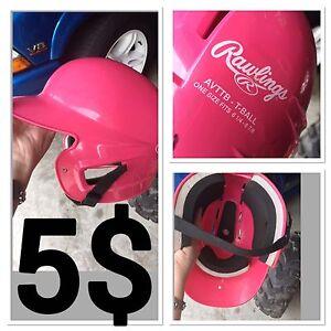 Kids base ball helmet
