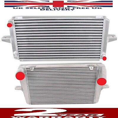 ALLOY FRONT MOUNT INTERCOOLER AND RADIATOR FIT FORD RS500 RS 500 SIERRA COSWORTH