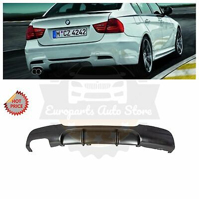 2008-13 BMW PERFORMANCE STYLE DIFFUSER FOR BMW E90 325 328 4D WITH MTECH M SPORT