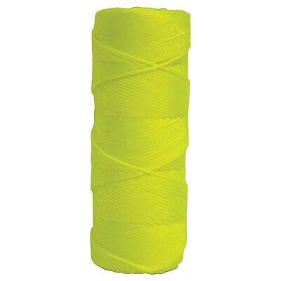 Kraft Tool 500 Fluorescent Yellow Braided Nylon Masons Line
