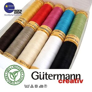 Gutermann Threads Cotton Guterman Machine Sewing Thread Guttermann not polyester