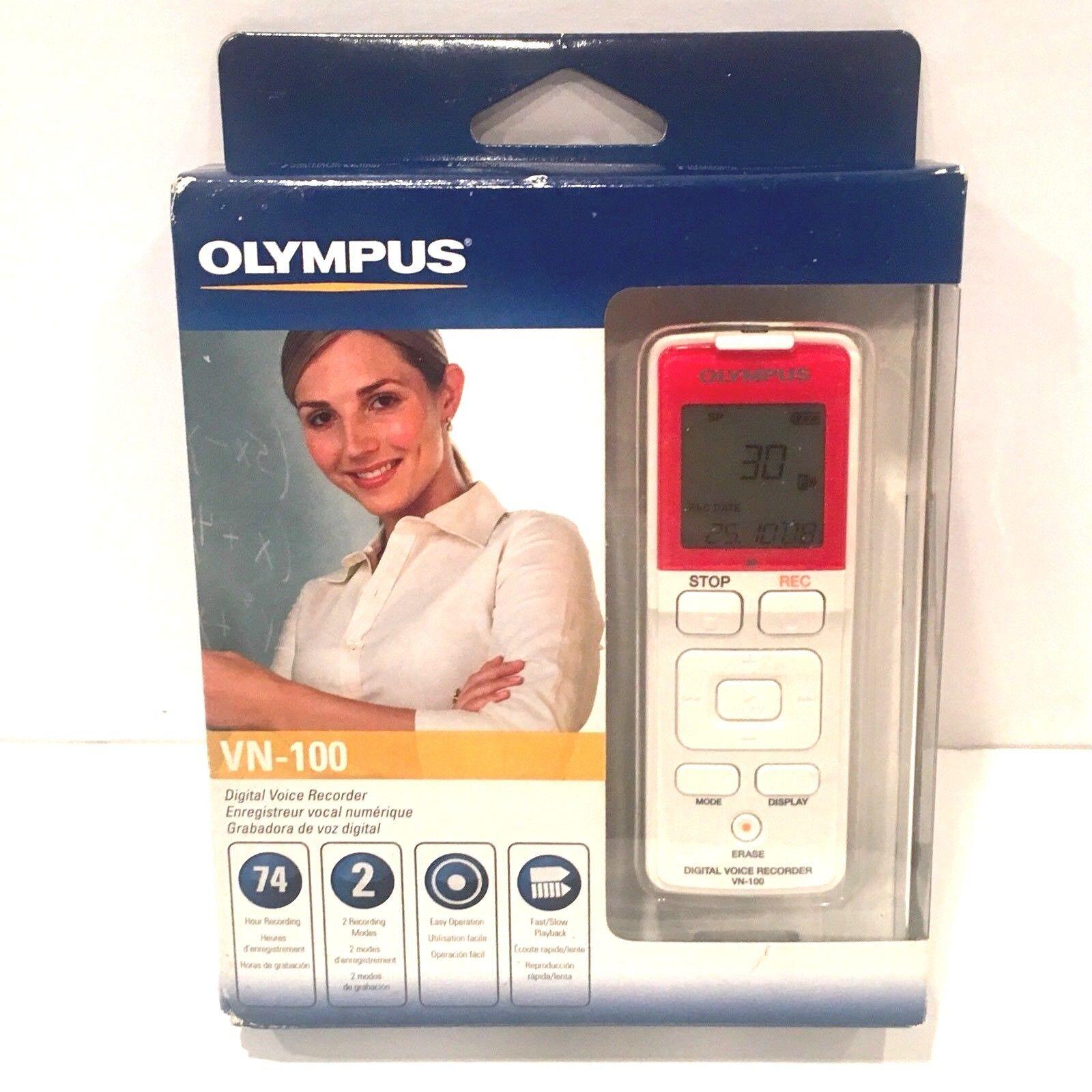 Olympus VN-100 128MB Digital Voice Recorder 140129