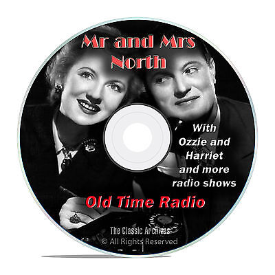 Mr and Mrs North, 584 Classic Old Time Radio Shows Mystery Drama OTR mp3 DVD G28
