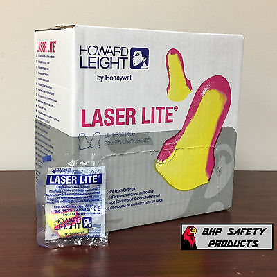 (200 PAIR) HOWARD LEIGHT LL1 LASER LITE DISPOSABLE EAR PLUGS UNCORDED SLEEP AID for sale  USA