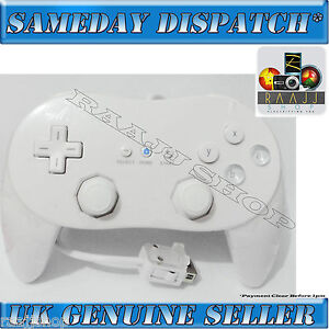 NEW-WHITE-CLASSIC-CONTROLLER-PRO-JOYPAD-GAMEPAD-FOR-NINTENDO-WII-CONSOLE