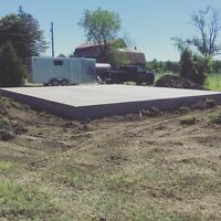 Concrete pads, walkways , all your concrete needs