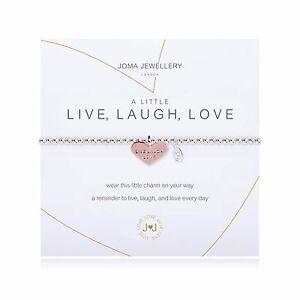 Joma Jewellery A Little LIVE, LAUGH, LOVE - Bracelet