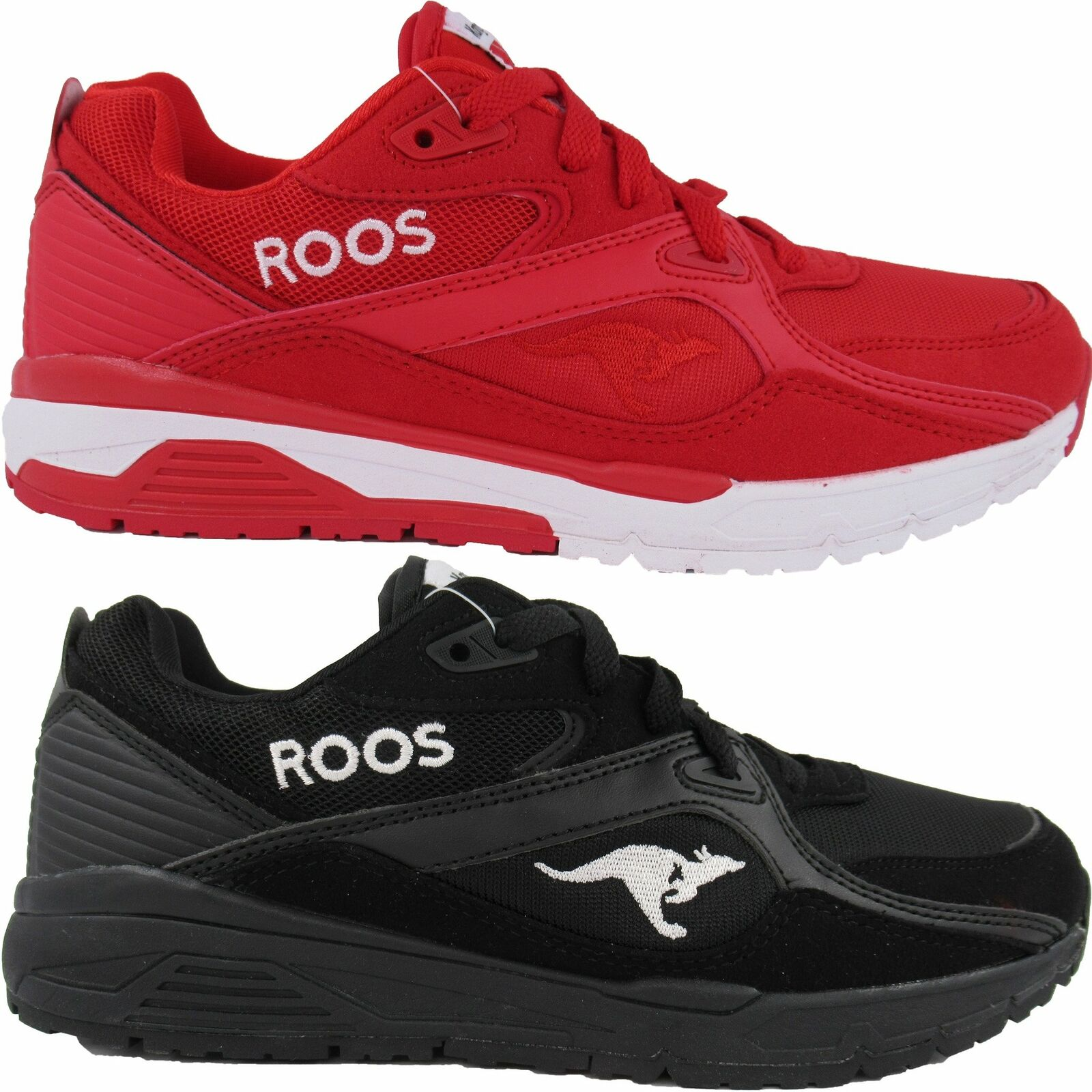 KangaROOS Roos Mens Runaway Pocket Tongue Retro Casual Classic Athletic Shoes