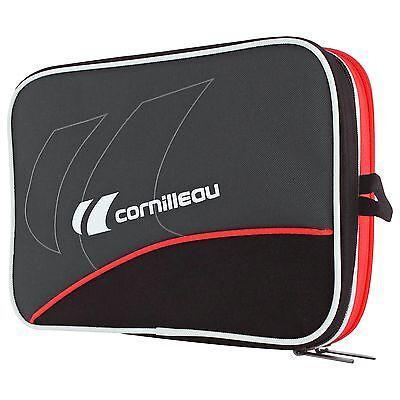 Cornilleau Fittcare Double Bat Case - Spacious Table Tennis Racquet Case