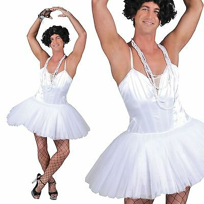 Mens Ballerina Dancer Dress Costume Stag Hen Do Party Transvestite Horror - Mens Ballerina Costume