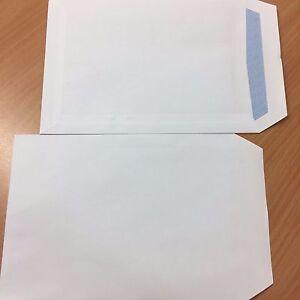 Box of 500 c5 90 gsm White Self Seal Business Envelopes No Window +Free 24H