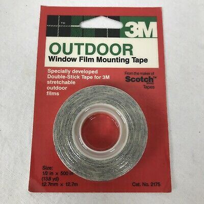 Weather Resistant Outdoor Double Sided Mounting Tape 12 X 500 Energy Saving