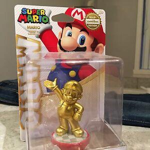 Nintendo amiibo golden Mario