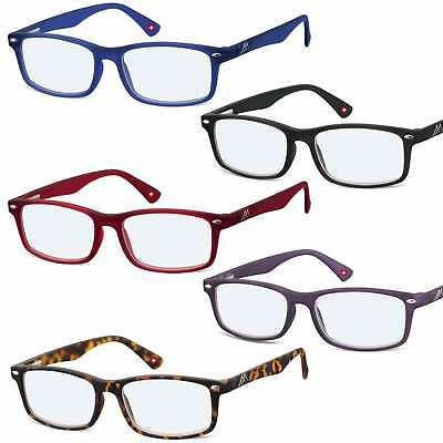 Lesebrille mit Blue Light Filter Montana Eyewear BLF83 Etui by EYE-NET
