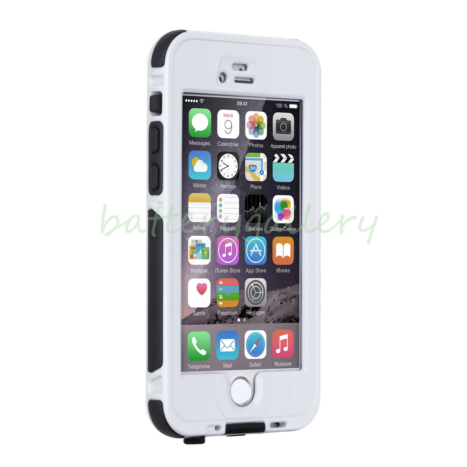 WATERPROOF SHOCKPROOF DIRT PROOF CASE COVER FOR APPLE IPHONE 6,7 & PLUS
