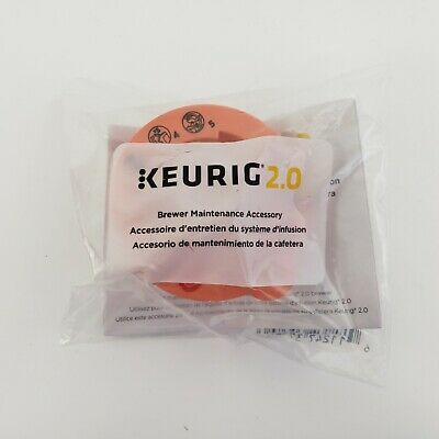 Keurig 2.0 Brewer Cleaning Maintenance Accessory NEW