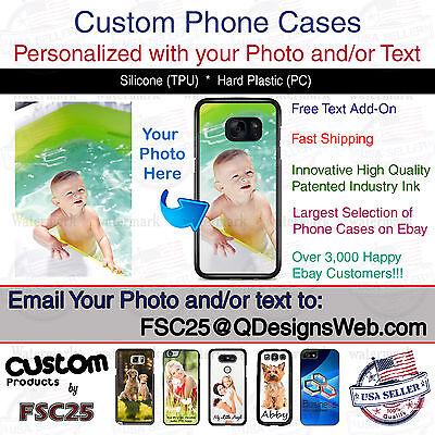 Custom Phone Case Cover Personalized Photo image logo gift fits LG G6