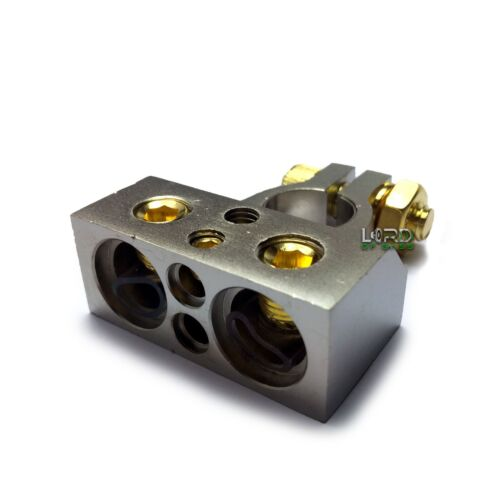 Car Battery Terminal Connector Top Post Negative Positive 0/4/8/10 Gauge AWG