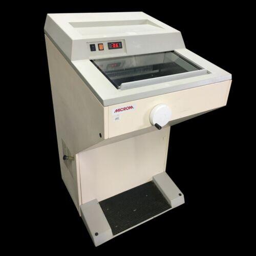 Microm HM 505 N Cryostat Rotary Manual Microtome Cryocut HM505N HM505