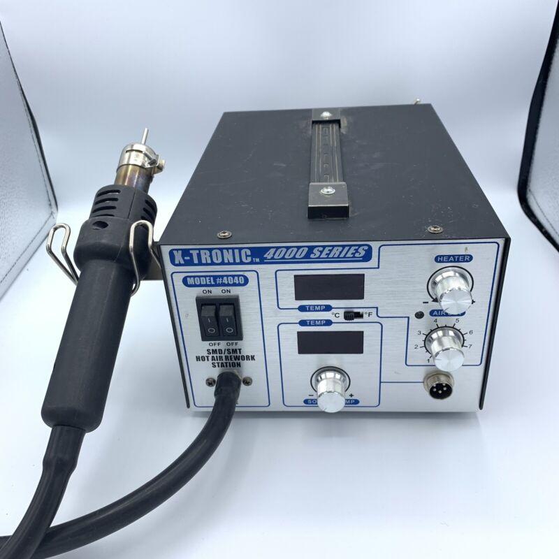 X-Tronic - 4000 Series Model #4040 - Solder Station